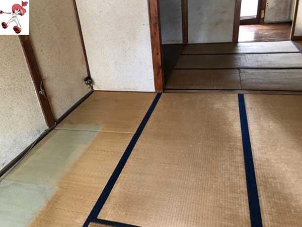 岐阜県岐阜市の遺品整理 S様の作業後1