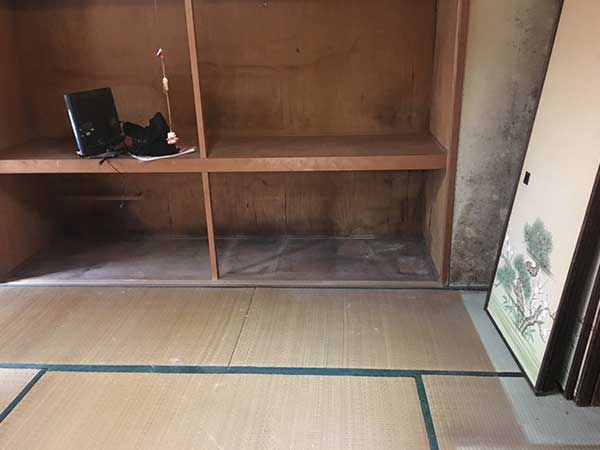 静岡県静岡市の遺品整理 S様の作業後2
