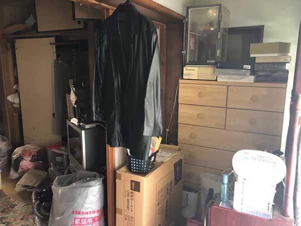 愛知県瀬戸市の遺品整理 K様の作業前2
