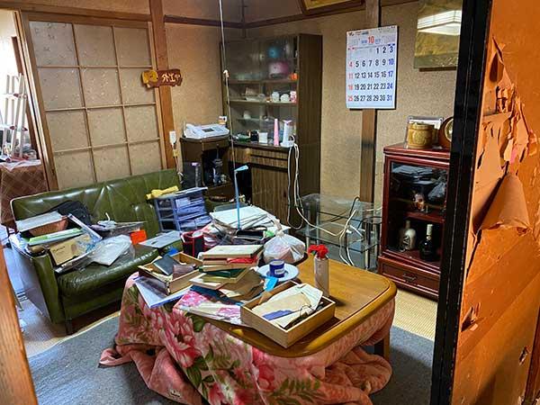 愛知県名古屋市の遺品整理 D様の作業前1