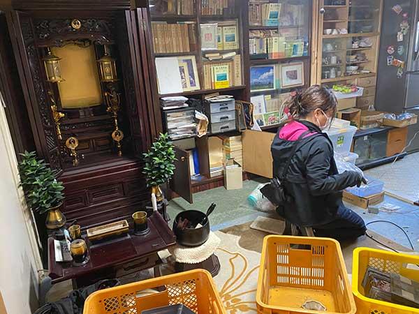 愛知県一宮市の遺品整理 Y様の作業前1