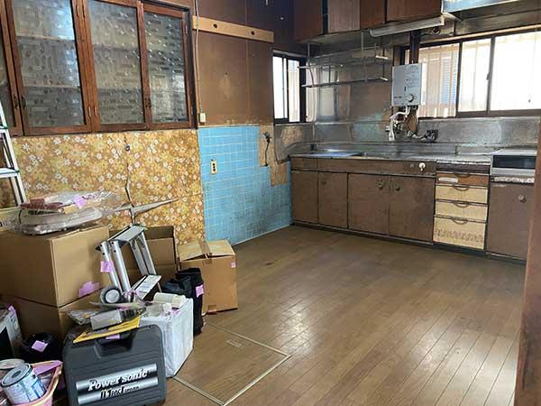 愛知県東海市の空き家遺品整理 I様の作業後1
