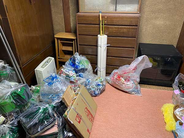 愛知県名古屋市の遺品整理 S様の作業前3