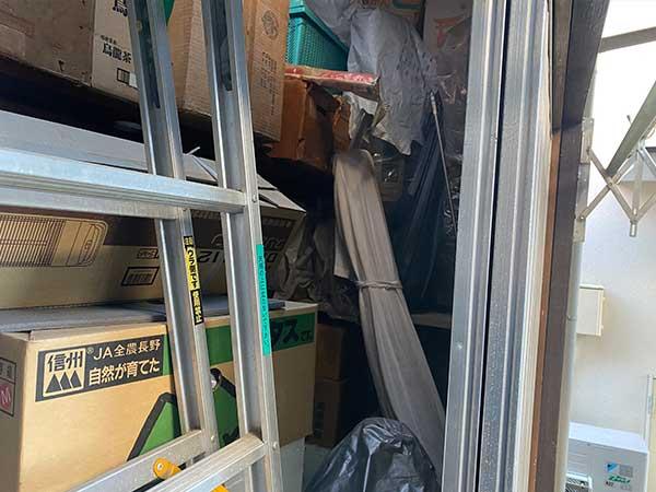 愛知県日進市の遺品整理 Y様の作業前3