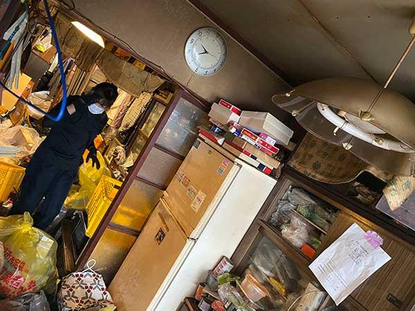 愛知県名古屋市の遺品整理 H様の作業前3
