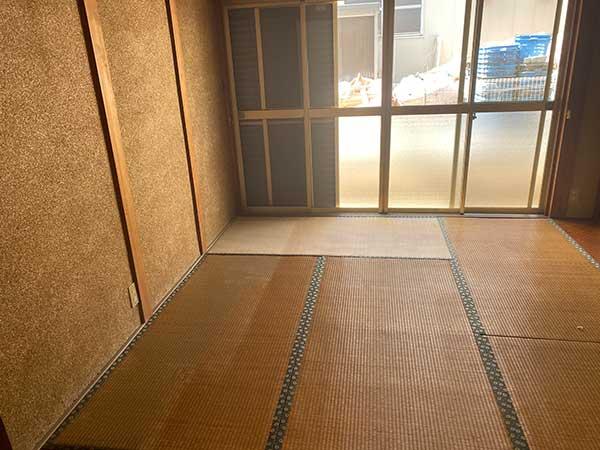 愛知県一宮市の空き家の遺品整理 H様の作業後1