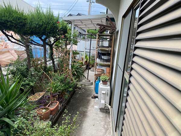 愛知県一宮市の空き家の遺品整理 H様の作業前3