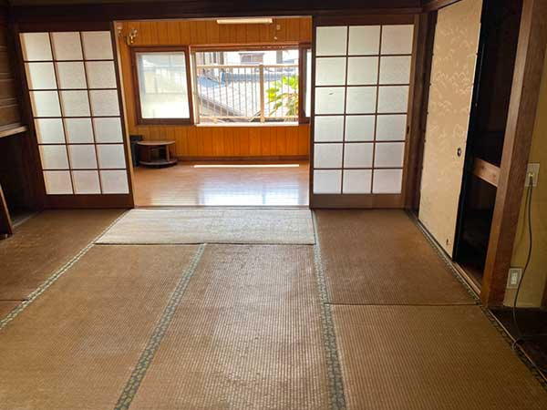 愛知県一宮市の解体前遺品整理  F様の作業後2