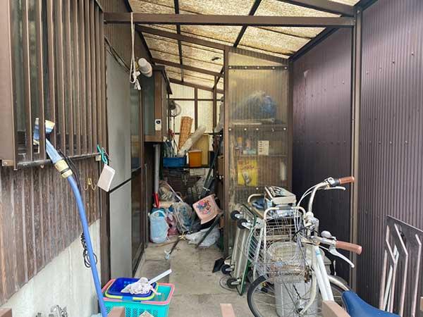 愛知県一宮市の解体前遺品整理  F様の作業前3