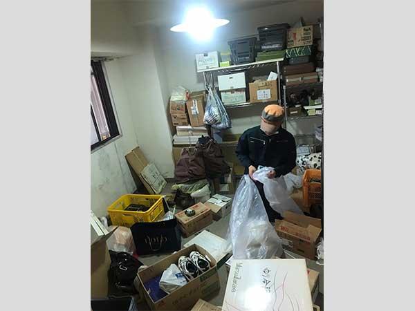 愛知県一宮市の遺品整理   G様の作業前1