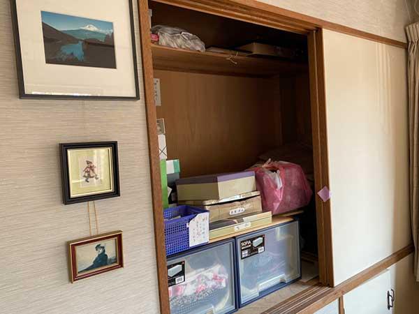 愛知県名古屋市の遺品整理   I様の作業前3
