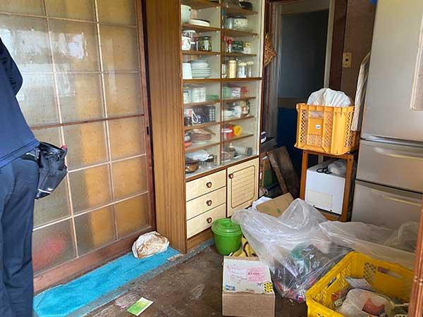 愛知県江南市の生前整理 M様の作業前3