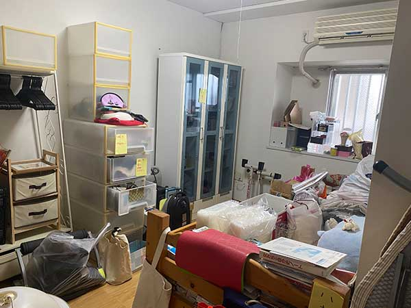 愛知県名古屋市の生前整理 Y様の作業前3