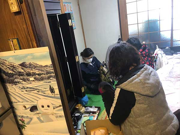 愛知県名古屋市の生前整理   O様の作業前3